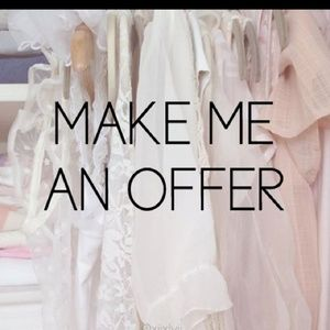 All offers will be considered!!🌞🌈🌛